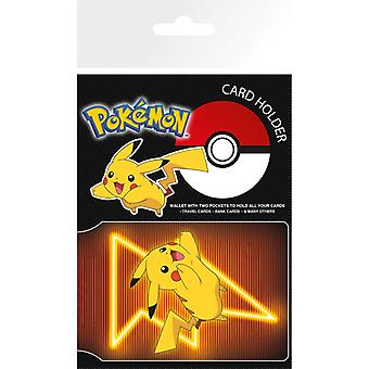 Pokemon Pikachu Neon Card Holder