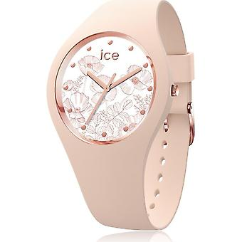 Ice Watch-armbandsur-Unisex-ICE Flower-Spring Nude-Small-3H-016663