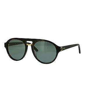 Cartier C Décor CT0130S 003 Havana/Green Glasses