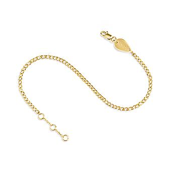 Anklet Thin Chain 18K Gold - Yellow Gold