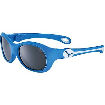 Cebe S'Mile Kids Sunglasses (Matt Blue White 1500 Grey PC Blue Light Cat.3)