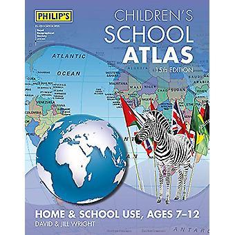 Philip's Children's Atlas de David Wright - 9781849074919 Libro