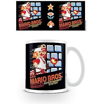 Super Mario Bros 1 NES Cover Krus