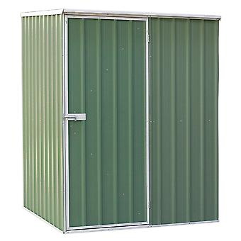 Sealey Gss1515G Galvanized Steel Shed Green 1.5 X 1.5 X 1.9Mtr