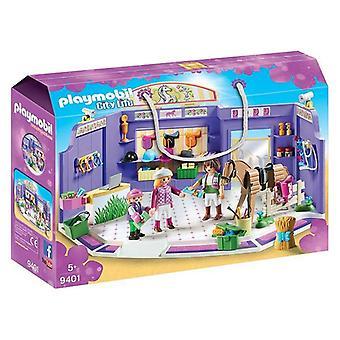 Playset City Life Riding Shop Playmobil 9401