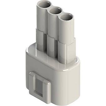 EDAC Pin enclosure - cable 572 Total number of pins 3 Contact spacing: 5.08 mm 572-003-000-100 1 pc(s)
