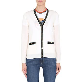 Tory Burch 57330172 Dames's White Wool Cardigan