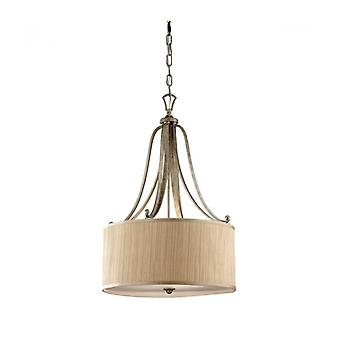 Abbey Pendant Lamp, With Lampshade