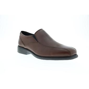 Bostonian Bolton  Mens Brown Leather Dress Slip On Loafers Shoes