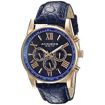 Akribos XXIV Clock Man Ref. AK864RGBU