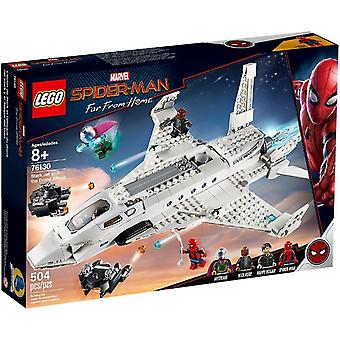 LEGO 76130 Starkjet Hunter and the drone attack