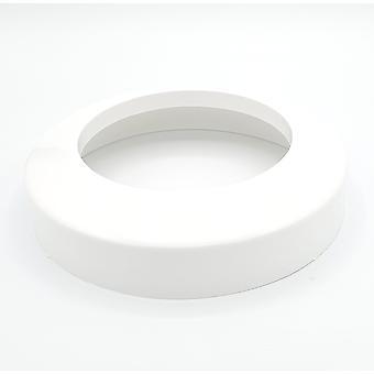 Collier de tuyau de chute WC 110mm blanc couvrir se terminant