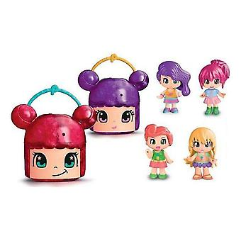 Doll Pinypon Mix is Max Surprise Head Famosa