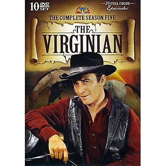 Virginian: Saison 5 USA [DVD] import