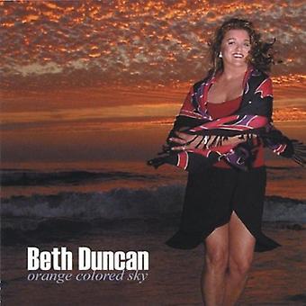 Beth Duncan - Orange Colored Sky [CD] USA import