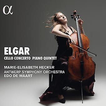 Elgar / Hecker - Concierto para violonchelo en E Mino [CD] Importación de EE.UU.