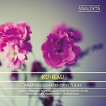 Kuhlau / Putterman, Mika / Helyard, Eryn - Kuhlau: Grand Sonatas for Piano & Flute Obligee [CD] USA import
