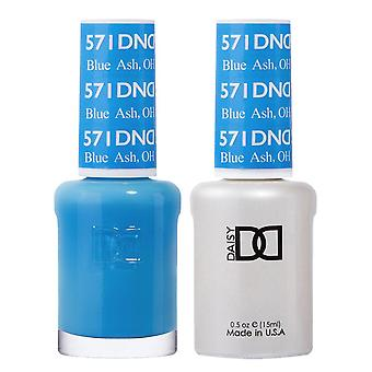 DND Duo Gel & Nail Polish Set - Blue Ash OH 571 - 2x15ml