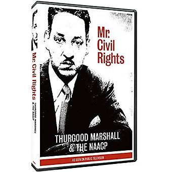 Herr Civil Rights: Thurgood Marshall & NAACP [DVD] USA import