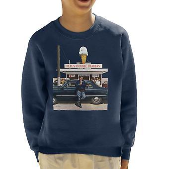 The Saturday Evening Post Ice Cream Policeman Kid's Sweatshirt