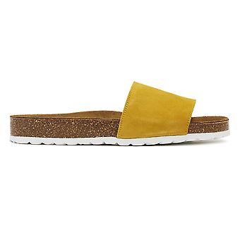TOWER London Cosmo Womens Yellow Slides