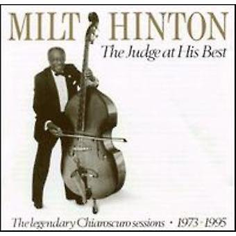 Milt Hinton - Judge at His Best [CD] USA import
