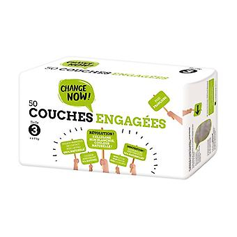 T3 Engaged Diapers (4-9kg) 50 units