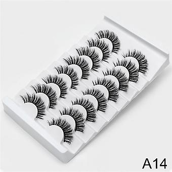 False Eyelashes Natural Makeup Eyelash Extension