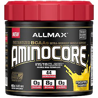 ALLMAX Nutrition, AMINOCORE, Instantized BCAAs Intra-Workout Muscle Support, Pin