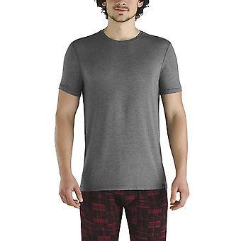 Saxx Underwear Co Sleepwalker SS Lounge T-Shirt - Dark Charcoal Heather