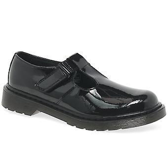 الدكتور مارتنز Ailis الفتيات أحذية المدرسة العليا
