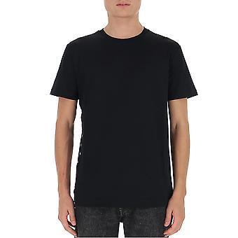 Les Hommes Ljt111710u9000 Men's Zwart Katoen T-shirt