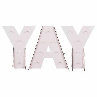 Yay rosa Ombre Donut Wand Stand Karton Party Dekoration für 17 Donuts