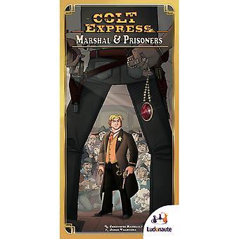 Colt Express Marshal & Prisoners Board Game