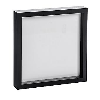 Nicola Frühling Fotorahmen - Acryl Box Rahmen (Glasabdeckung) - 20x20in - schwarz