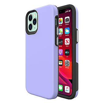 For iPhone 12 mini Case, Shockproof Protective Cover Purple