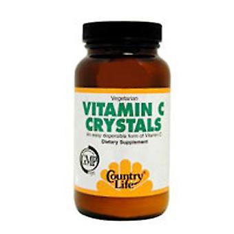 Country Life C-vitamin krystaller, 8 ounce