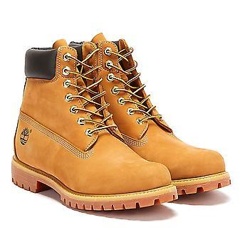 Timberland Męskie Pszenica Premium 6-calowe skórzane buty nubuku