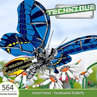 Noul Creator Simulate Insect Butterfly, Technic Bee-libelula Model