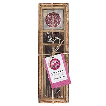 Something Different Crown Chakra Wooden Incense Gift Set
