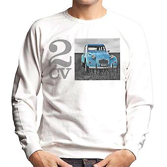 Citro?n 2CV Meadow Photo Men's Sweatshirt