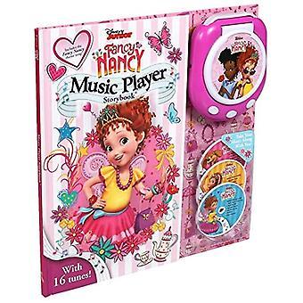 Disney Fancy Nancy Music Player (musiikkisoittimen satukirja)