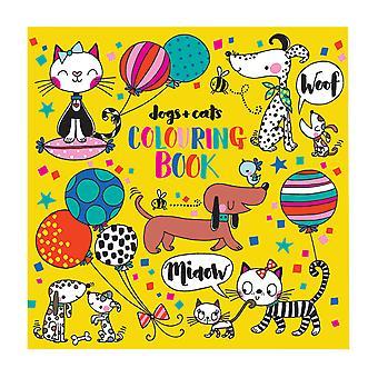 Målarbok för hundar och katter
