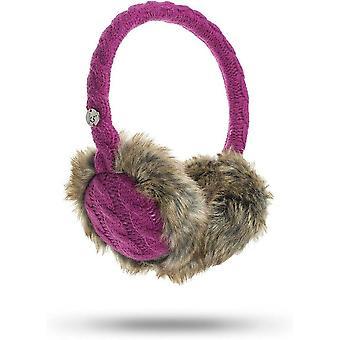 KitSound Audio On-Ear Earmuffs avec intégré dans le câble d'écouteurs Tricot