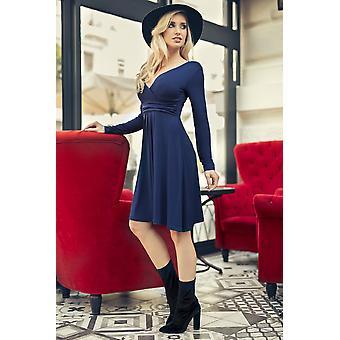 Classic & Sensible Women's Dress V Neck Long Sleeve 8467