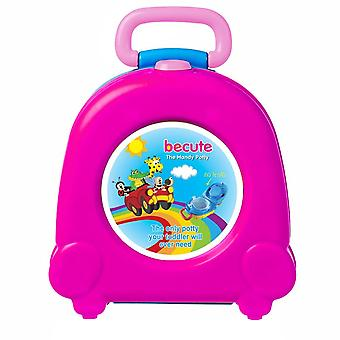 Toddler Car Cute Toilet Training Seat, Travel Urinal With Handle Outdoor