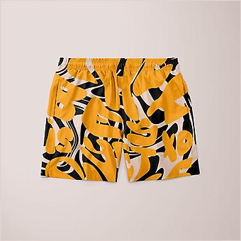 The best is yet to come prints shorts
