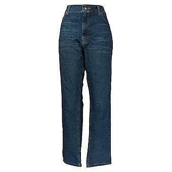 Lee Men's Jeans 40x32 Straight Leg Regular Fit Medium Blue