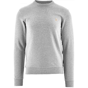 Farah Grey Tim Crew Sweatshirt