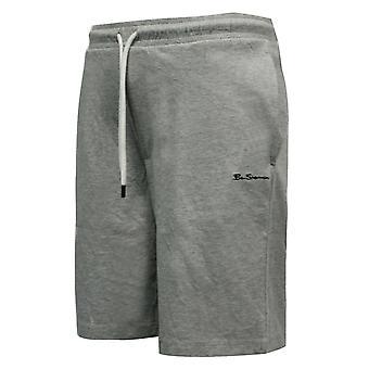 Ben Sherman Mens Shorts Training Running Casual Light Grey 0058678-LG A14B